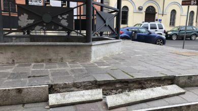 Photo of La  fontana romana resiste, gli scalini di accesso no…