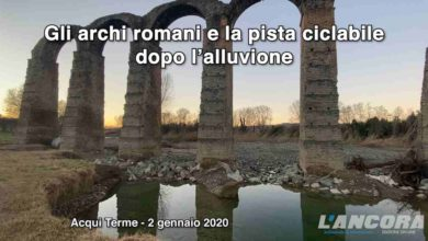 Photo of Acqui Terme – Gli archi romani e la pista ciclabile dopo l'alluvione (VIDEO)