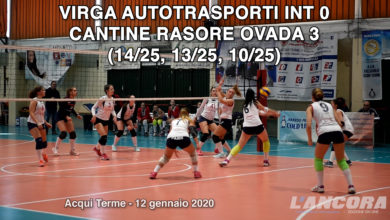Photo of Volley – Villa autotrasporti INT vs Cantine Rosore Ovada 0 – 3 (VIDEO)