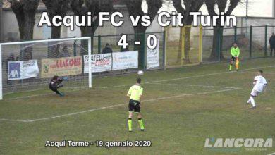 Photo of Calcio – Acqui Fc vs Cit Turin 4-0 (VIDEO)