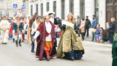 Photo of Le maschere acquesi al carnevale alessandrino