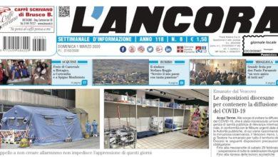 Photo of L'Ancora: sul numero 8 in edicola da giovedì 27 febbraio…