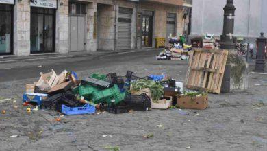 Photo of Rifiuti post mercato