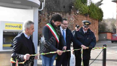 Photo of Strevi: Inaugurato ufficialmente lo sportello postamat