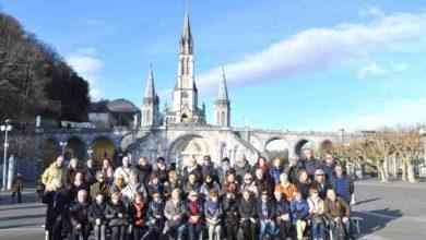 Photo of 54 pellegrini a Lourdes con Don Flaviano