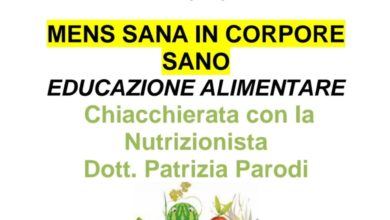 Photo of A Campo Ligure una serata sull'educazione alimentare