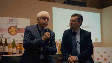 """Photo of Giorgio Calabrese all'Enoteca Regionale: """"Bevi acqua se hai sete, gusta il vino perché è cibo"""""""