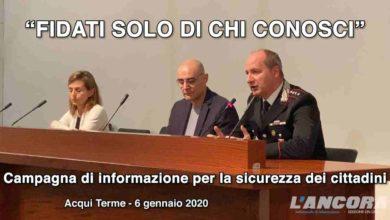"""Photo of Acqui Terme – """"Fidati solo di chi conosci"""" (VIDEO)"""