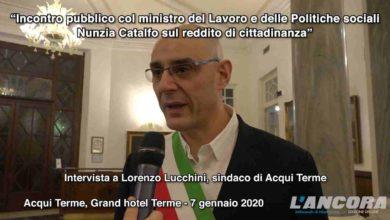 Photo of Acqui Terme – Reddito di cittadinanza: intervista al sindaco Lorenzo Lucchini (VIDEO)