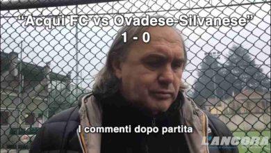 Photo of Calcio – Acqui FC vs Ovadese Silvanese – I commenti dei mister (VIDEO)
