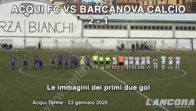 Photo of Calcio – Acqui FC vs Barcanova calcio 2-1 (VIDEO)