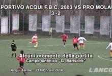 Photo of Calcio – Deportivo Acqui vs Pro Molare 3 – 2 (VIDEO)