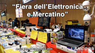 Photo of Acqui Terme – Fiera dell'elettronica (VIDEO)
