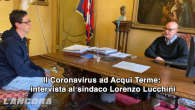 Photo of Il Coronavirus ad Acqui Terme: intervista al sindaco Lorenzo Lucchini (VIDEO)