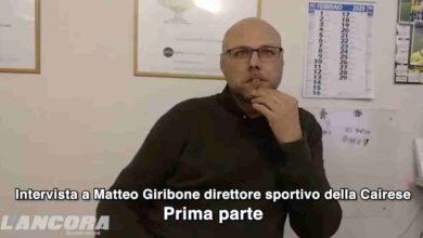 Photo of Calcio: Cairese – parla il ds Giribone