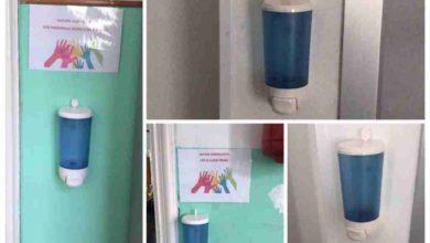 Photo of Masone: dispenser di gel disinfettanti per scuola e uffici comunali