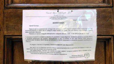 Photo of Accesso di parenti alla Casa di riposo Ottolenghi