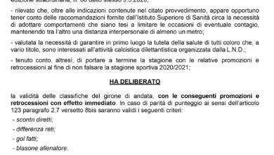 Photo of Campionati: in circolazione in rete un falso comunicato LND