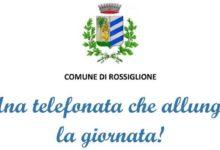 Photo of Rossiglione: una telefonata contro la solitudine