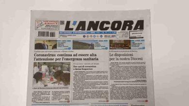 Photo of Settimanale L'Ancora – In edicola il n°9 del 8 marzo 2020 (VIDEO)
