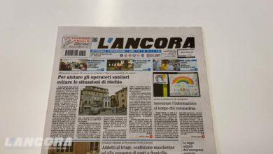 Photo of Settimanale L'Ancora – In edicola il n°11 del 22 marzo 2020 (VIDEO)