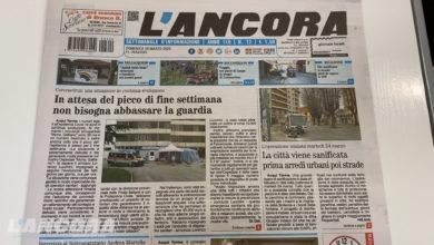 Photo of Settimanale L'Ancora – In edicola il n°12 del 29 marzo 2020