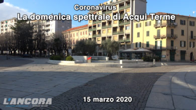 Photo of Coronavirus – La domenica spettrale di Acqui Terme (VIDEO)