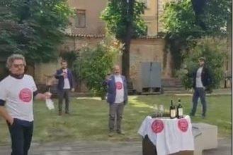 """Photo of Il 9 maggio dai Giardini Crova: brindisi virtuale per """"Nizza è Barbera"""""""