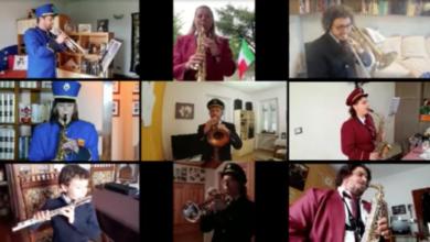 Photo of La banda in video. Concerto a distanza