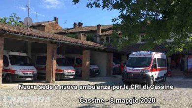 Photo of Cassine – Nuova sede e nuova ambulanza per la Croce Rossa di Cassine (video)
