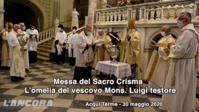 Photo of Messa del Sacro Crisma, omelia di Mons. Luigi Testore (video)