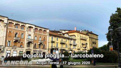 Photo of Acqui Terme – Dopo la pioggia… l'arcobaleno (video)