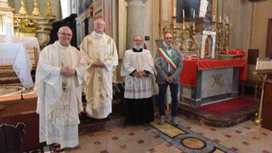 Photo of Grognardo: l'ingresso del nuovo parroco don Luciano Cavatore