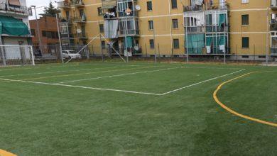 campo da calcio - parrocchia Pellegrina