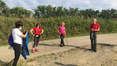 Photo of Camminate sportive turistiche con tecnica Nordic Walking