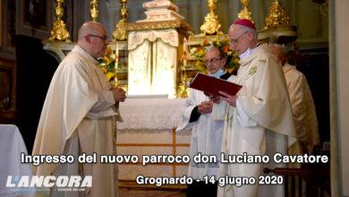 Photo of Grognardo – Ingresso del nuovo parroco don Luciano Cavatore (video)