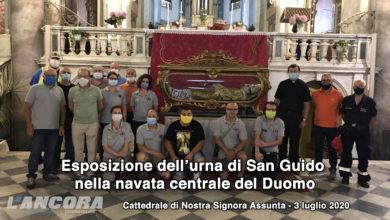 Photo of Esposizione dell'urna di San Guido nella navata centrale del Duomo (video)