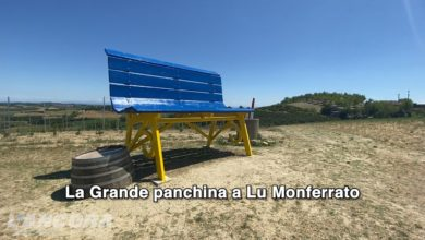 Photo of La Grande panchina a Lu Monferrato (video)
