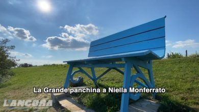 Photo of La Grande panchina a Niella Belbo (video)