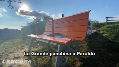 Photo of La Grande panchina a Paroldo (video)