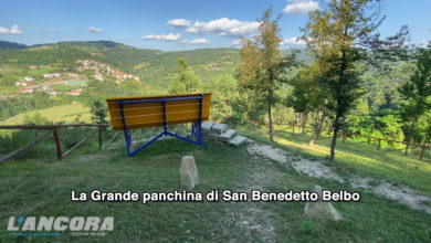 Photo of La Grande panchina a San Benedetto Belbo (video)