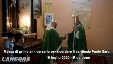 Photo of Ricaldone – Messa di primo anniversario per ricordare il cardinale Paolo Sardi (video)