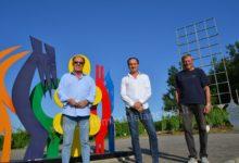 Photo of Bubbio: Alberto Cirio ha visitato il parco scultoreo Quirin Mayer