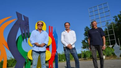 Photo of Bubbio: Alberto Cirio ha visitato il parco scultoreo Quirin Mayer