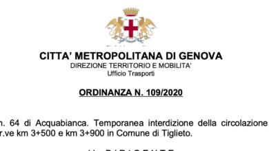 Photo of Tiglieto: interruzioni sulla SP di Acquabianca