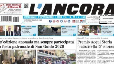 Photo of L'Ancora: sul numero 28 in edicola da giovedì 16 luglio…