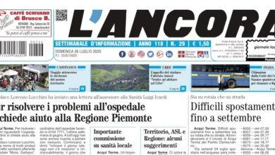 Photo of L'Ancora: sul numero 29 in edicola da giovedì 23 luglio…