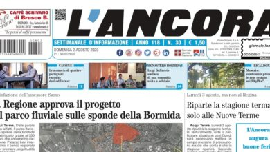 Photo of L'Ancora: sul numero 30 in edicola da giovedì 30 luglio…