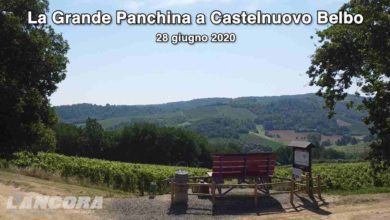 Photo of Castelnuovo Belbo – La Grande panchina (video)