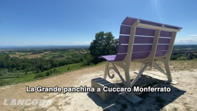 Photo of La Grande panchina a Cuccaro Monferrato (video)